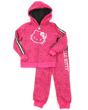 Hello Kitty - Marled Fleece Active Long Set (4-6X)