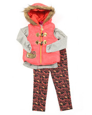 Hello Kitty - 3 Piece Vest Long Set (4-6X)