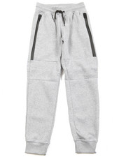 Bottoms - Zipper Fleece Jogger (8-20)