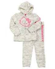 Hello Kitty - Lurex Space Dye Active Long Set (4-6X)
