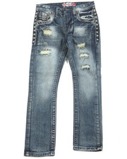Jeans - Premium Thick Stitch Embroidery Jeans (8-20)