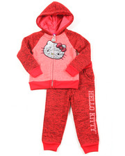 Hello Kitty - Marled Fleece Active Long Set (2T-4T)