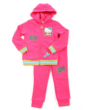 Hello Kitty - Fleece Active Long Set (4-6X)