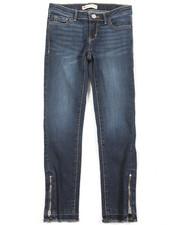 Girls - 710 Zipper Super Skinny Ankle Jean (7-16)