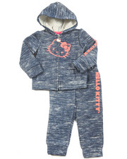 Hello Kitty - Lurex Space Dye ACtive Long Set (2T-4T)