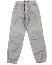 Pants - Stretch Twill Moto Jogger (8-20)