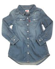 Girls - L/S Western Dress (2T-4T)