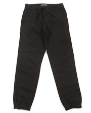 Bottoms - Stretch Twill Moto Jogger (8-20)
