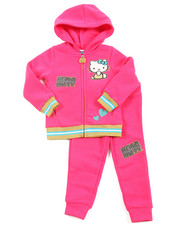 Hello Kitty - Fleece Active Long Set (2T-4T)