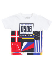 Short-Sleeve - S/S Parish City Blocks Graphic Tee (2T-4T)