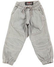 Pants - Stretch Twill Moto Jogger (2T-4T)