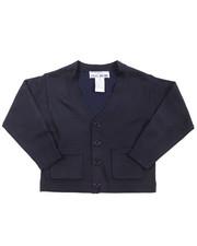 DRJ School Uniforms - Boys V-neck Cardigan Sweater