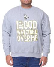 Sweatshirts & Sweaters - L/S I Got God Watching over me Sweatshirt (B&T)