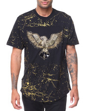 Buyers Picks - S/S Gold Lurex Embr Graphic T