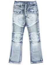 Jeans - Fashion Moto Jeans (8-20)