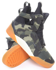 Footwear - Army Camo High Top Sneaker