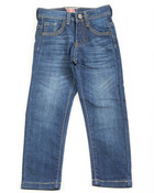 Fashion Stretch Embroidery Jeans (4-7)