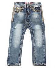 Jeans - Premium Thick Stitch Embroidery Jeans (4-7)