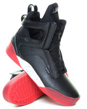 Footwear - Black Red Alert Prism High Top Sneaker