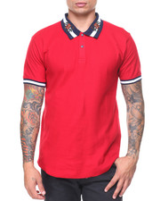Men - S/S Embrd Collar Regal Polo
