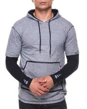 Men - Layered Sleeve Hoodie