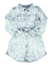 Girls - L/S Fit/Flare Dress (4-6X)