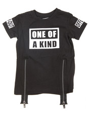 Akademiks - One Of A Kind Zip Trim Tee (2T-4T)
