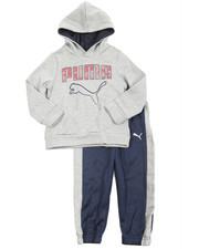 Sizes 2T-4T - Toddler - 2 Piece Tech Fleece Pullover Long Set (2T-4T)