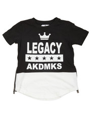 Akademiks - Legacy Raglan Sleeve Elongated Tee (4-7)