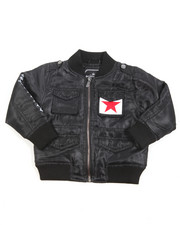 Sizes 2T-4T - Toddler - Lightweight Twill Bomber Jacket (2T-4T)