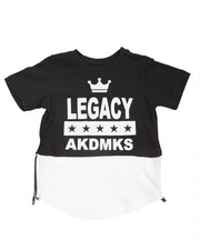 Akademiks - Legacy Raglan Sleeve Elongated Tee (2T-4T)