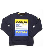 Sweatshirts & Sweaters - Parish City Blocks French Terry Sweatshirt (8-20)