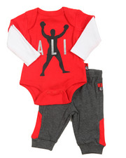 Mohamed Ali - Bodysuit & Pant Short Set (Infant)