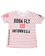 Sizes 2T-4T - Toddler - Yarn Dyed Tee (2T-4T)