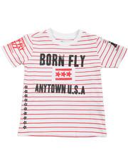 Born Fly - Yarn Dyed Tee (2T-4T)