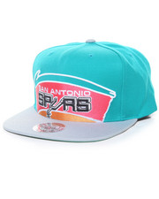 NBA Shop - Cropped XL Logo San Antonio Spurs Hard Wood Classic Snapback