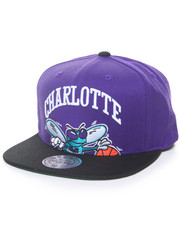 NBA Shop - Cropped XL Logo Charlotte Hornets Hard Wood Classic Snapback