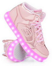 Footwear - Energy Lights Elate Metallic Mid Sneakers (Unisex)