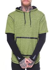 Shirts - Layered Sleeve Hoodie