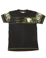 Boys - S/S Camo Stripe V-Neck Tee (8-20)