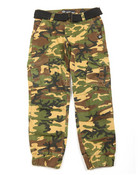 Belted Twill Cargo Jogger (8-20)