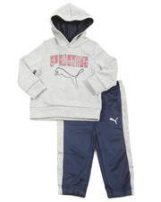 Boys - Tech Fleece Pullover Hoodie Long Set (Infant)