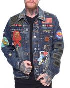 Denim Jacket W Patches