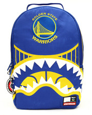 Sprayground - NBA LAB Golden State Warriors Shark Embroidered Backpack