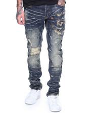 Men - Jeans W/ Patches