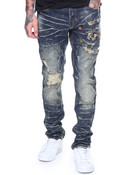 Jeans W/ Patches