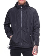 Men - Solid Nylon Jacket