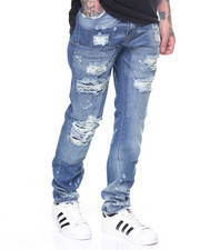Men - Stretch Rip & Repair Jeans