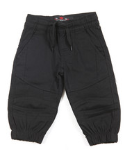 Arcade Styles - Stretch Twill Moto Jogger (Infant)