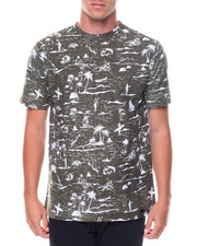Shirts - S/S Surf Print Tee